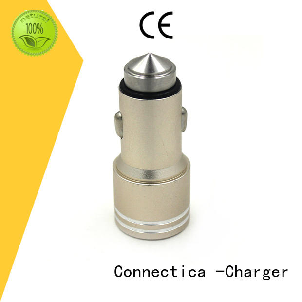 high quality iphone car charger excellent for sale Connectica charger