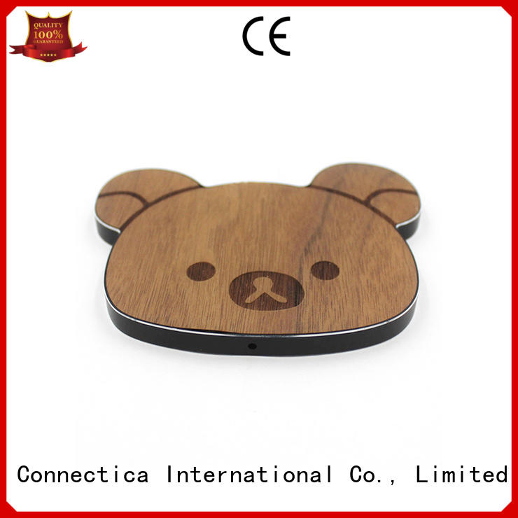 pcabs qi pu  Connectica charger Brand company