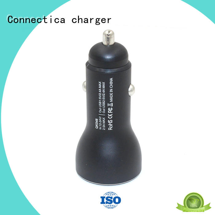 cell phone car charger pd for car Connectica charger