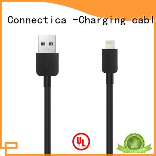 nylon charging cable pet with a usb Micro connector
