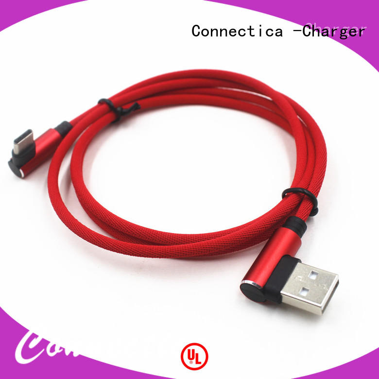 Connectica charger data cable usb type c mfi for the game