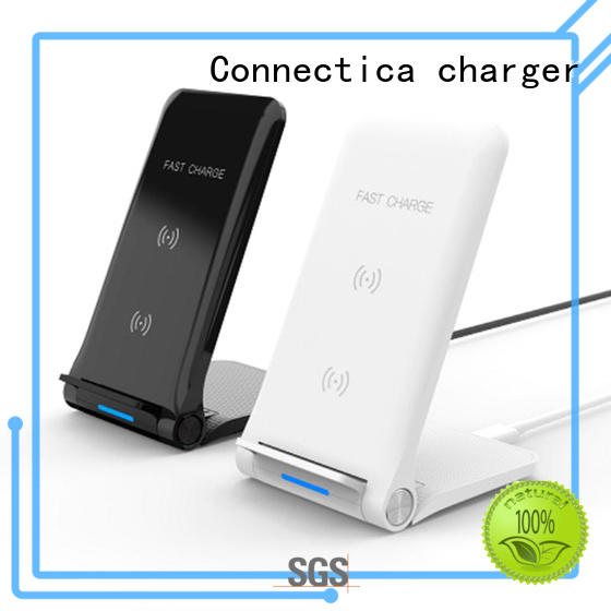 light qi car charging pad fast Connectica charger Brand