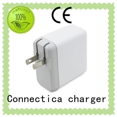 qc wall charger with interchangeable plug online